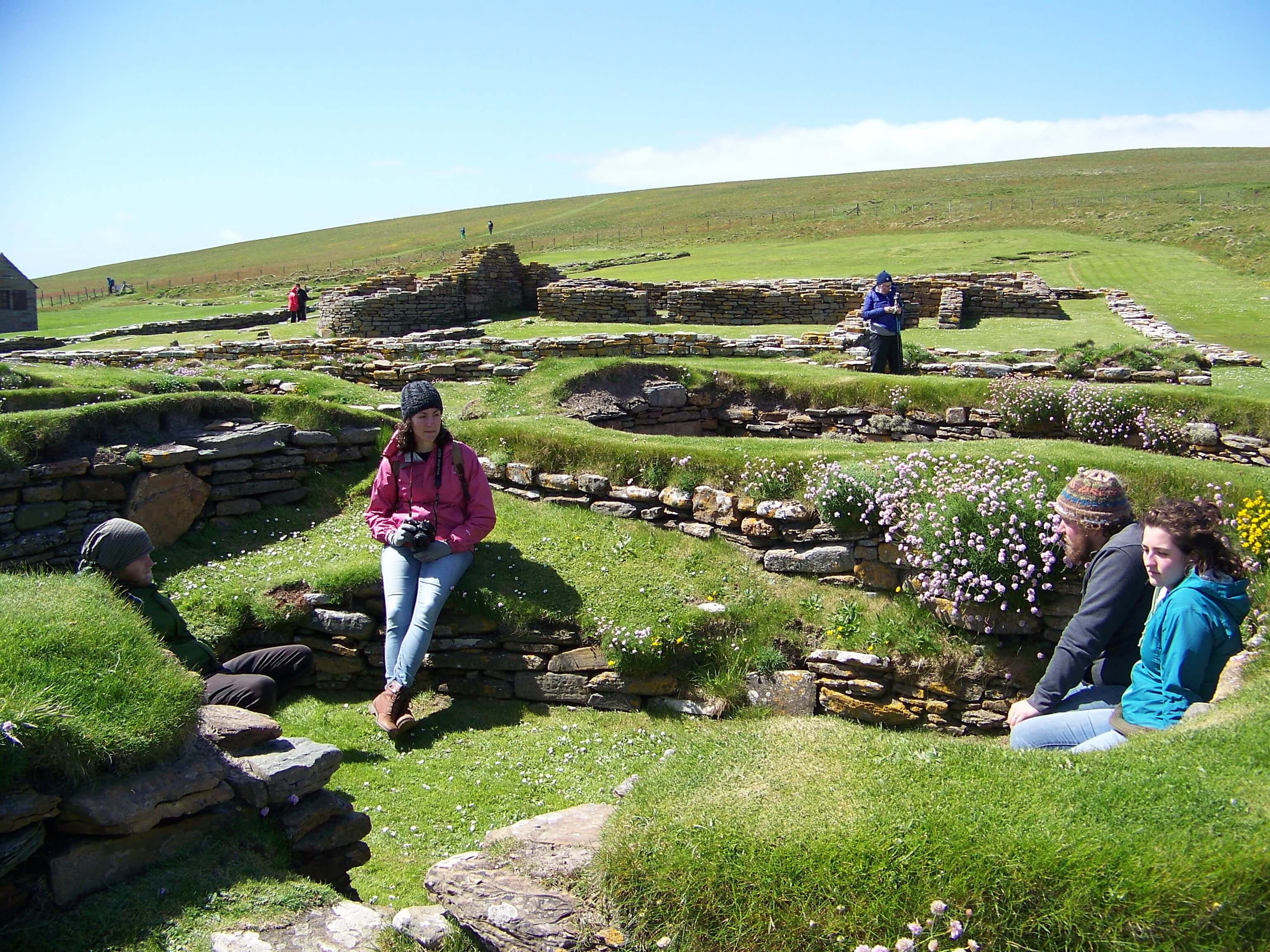 A peedie adventure in the Brough of Birsay Viking ruins
