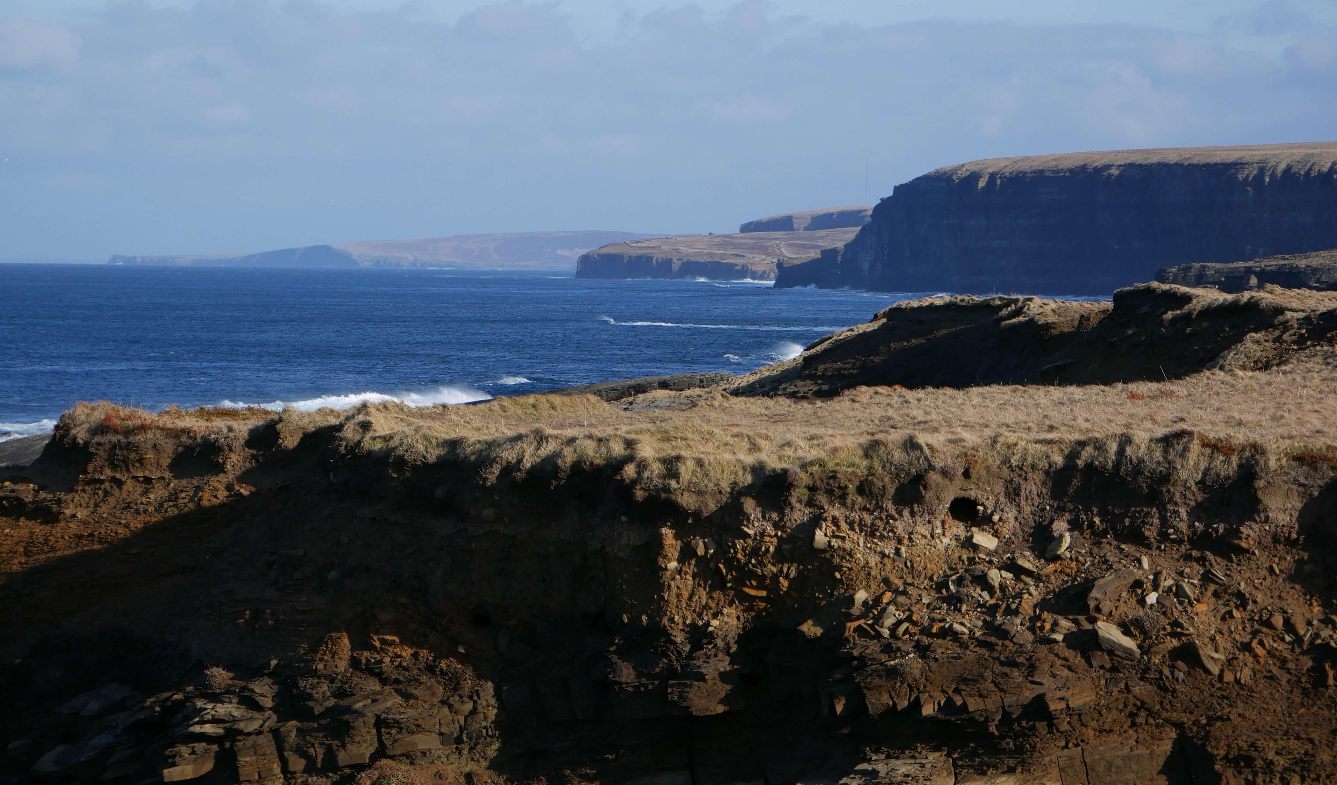 Coastline near Brough of Birsay, Orkney Islands, Scotland, UK
