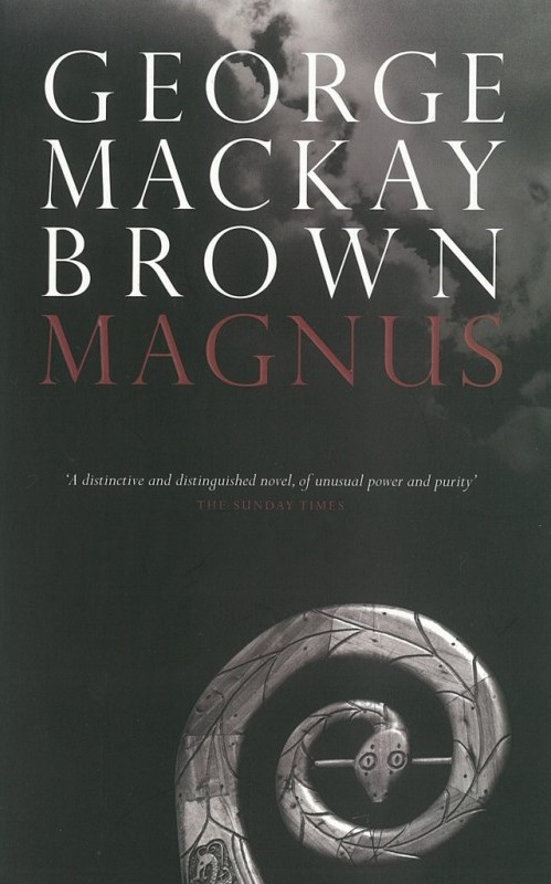 Celebrated Orkney Islands writer GMB's book - Magnus