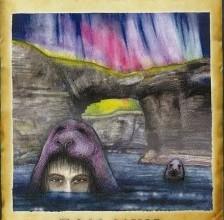 Katherine Soutar's cover illustration for Tom Muir's Orkney Folk Tales
