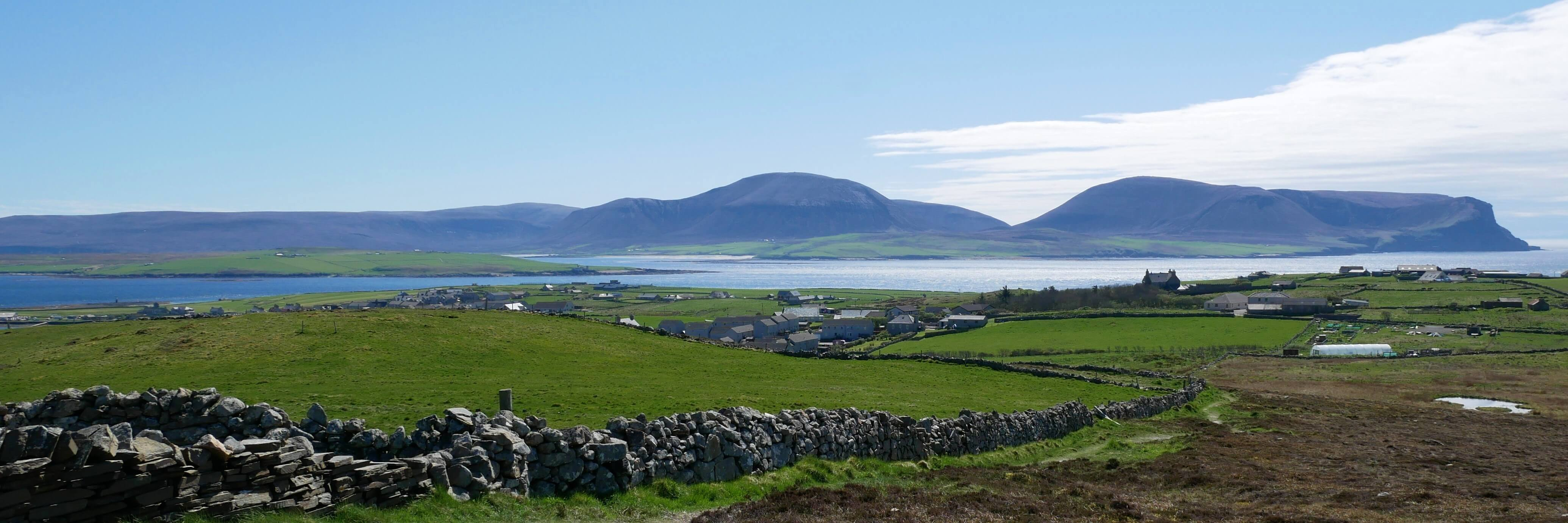 View from Brinkie's Brae, Stromness, Orkney Islands, Scotland