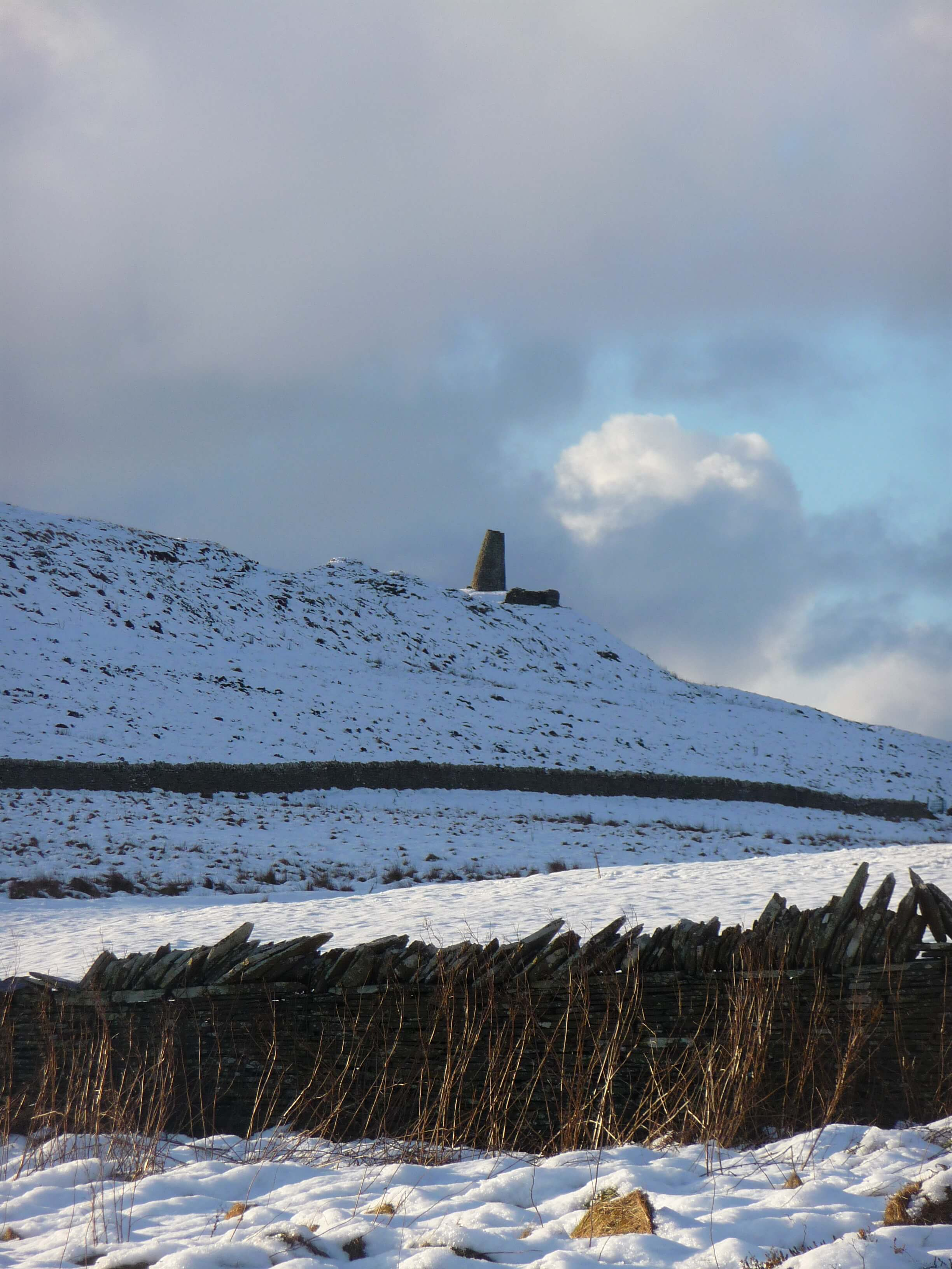 View of Buckle's Tower in Firth, Orkney, Scotland