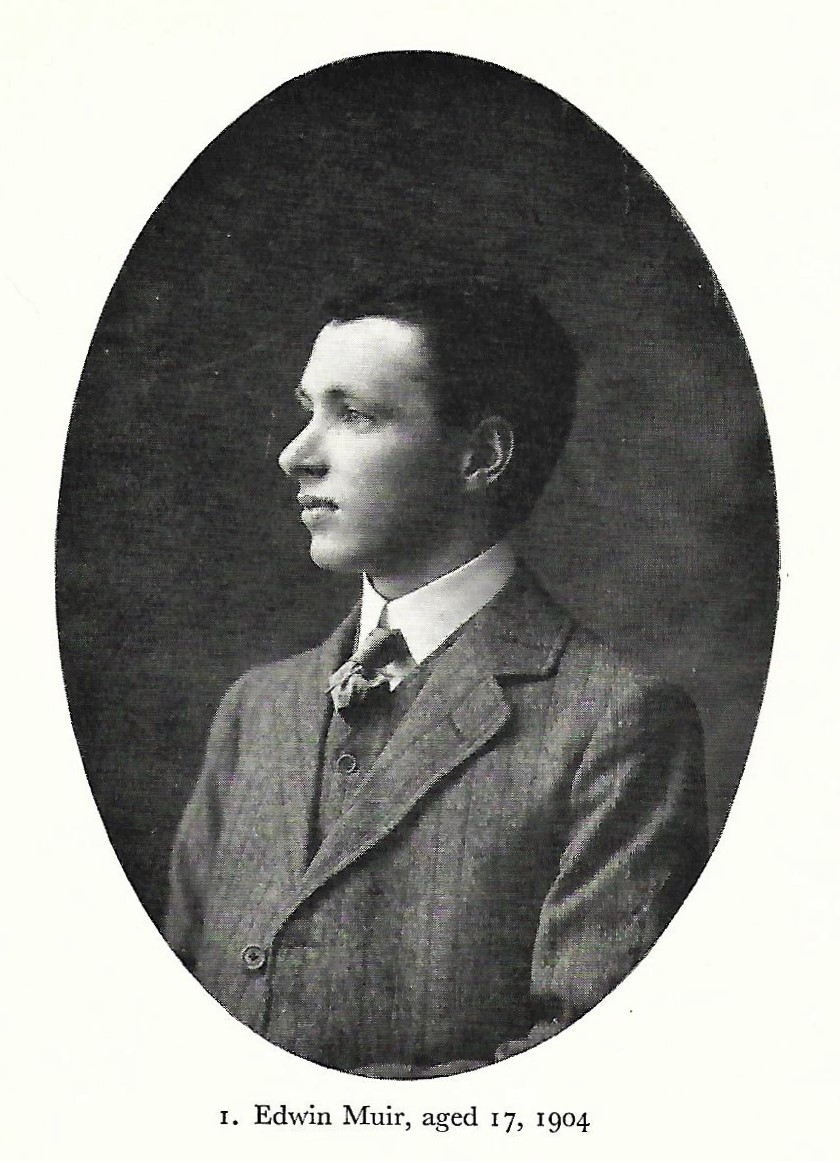 Photograph of Edwin Muir, Orcadian poet