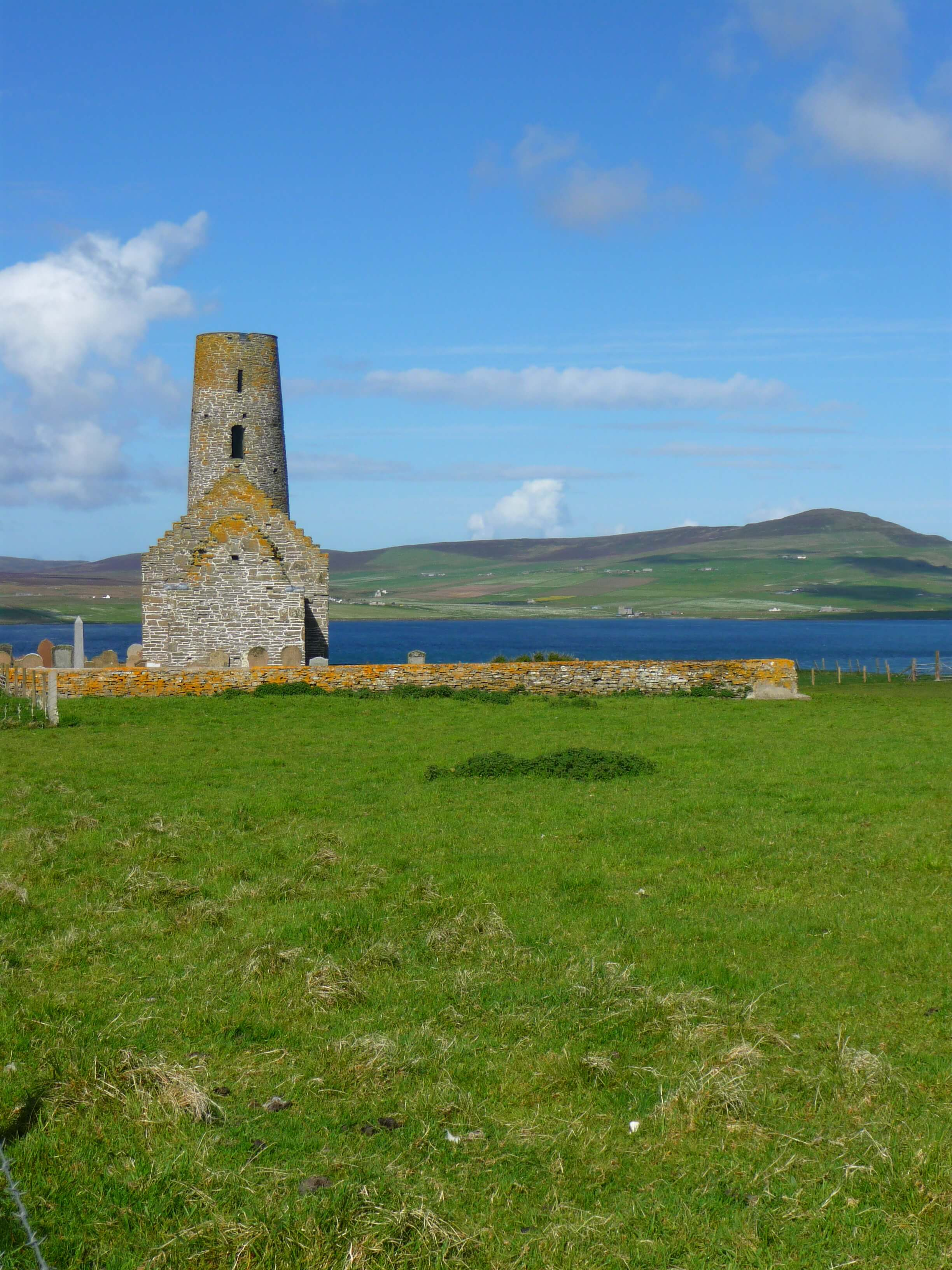 St Magnus Kirk, island of Egilsay, Orkney Islands, Scotland, UK