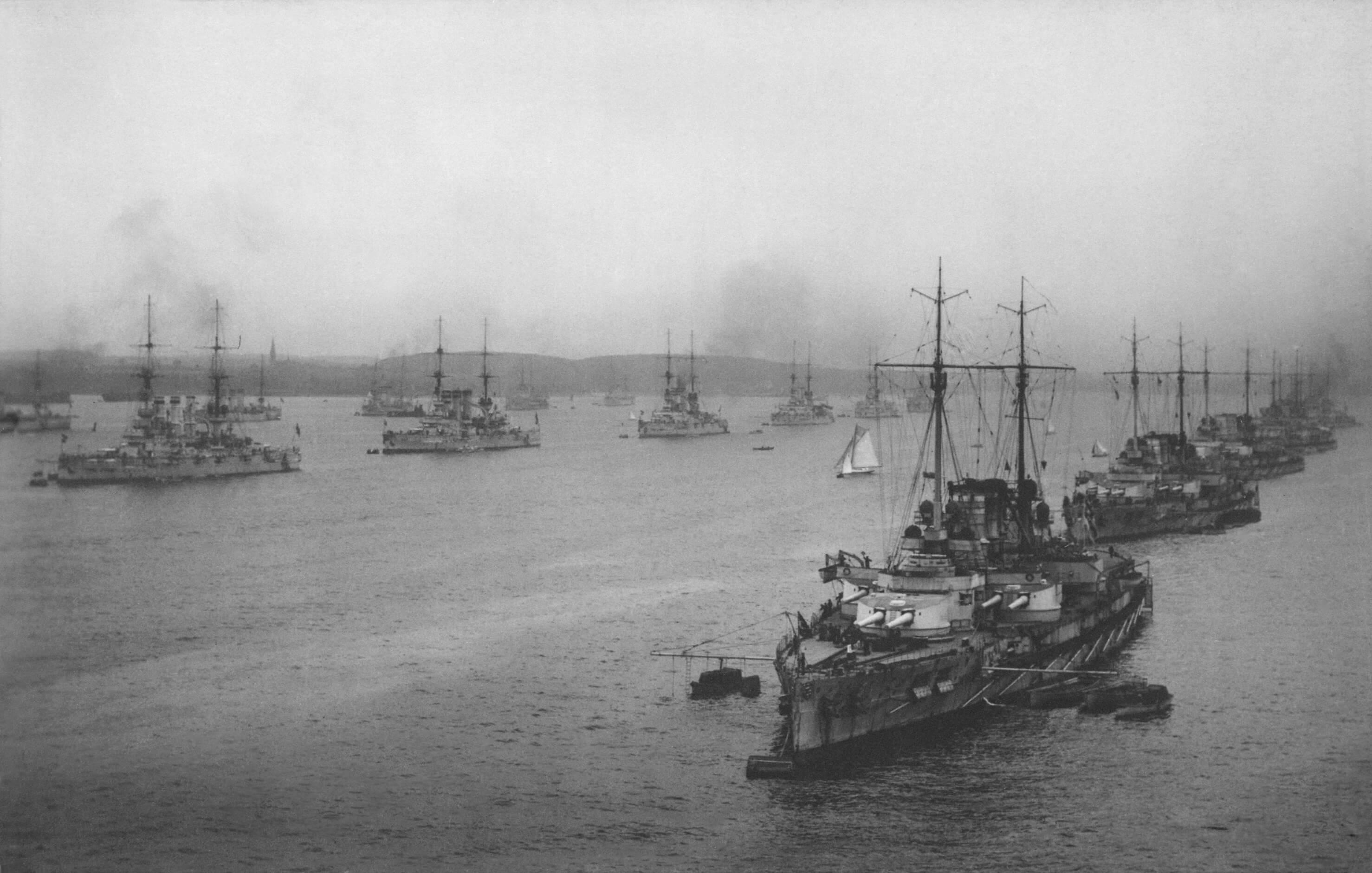 The German High Seas Fleet before WWI - Orkneyology.com