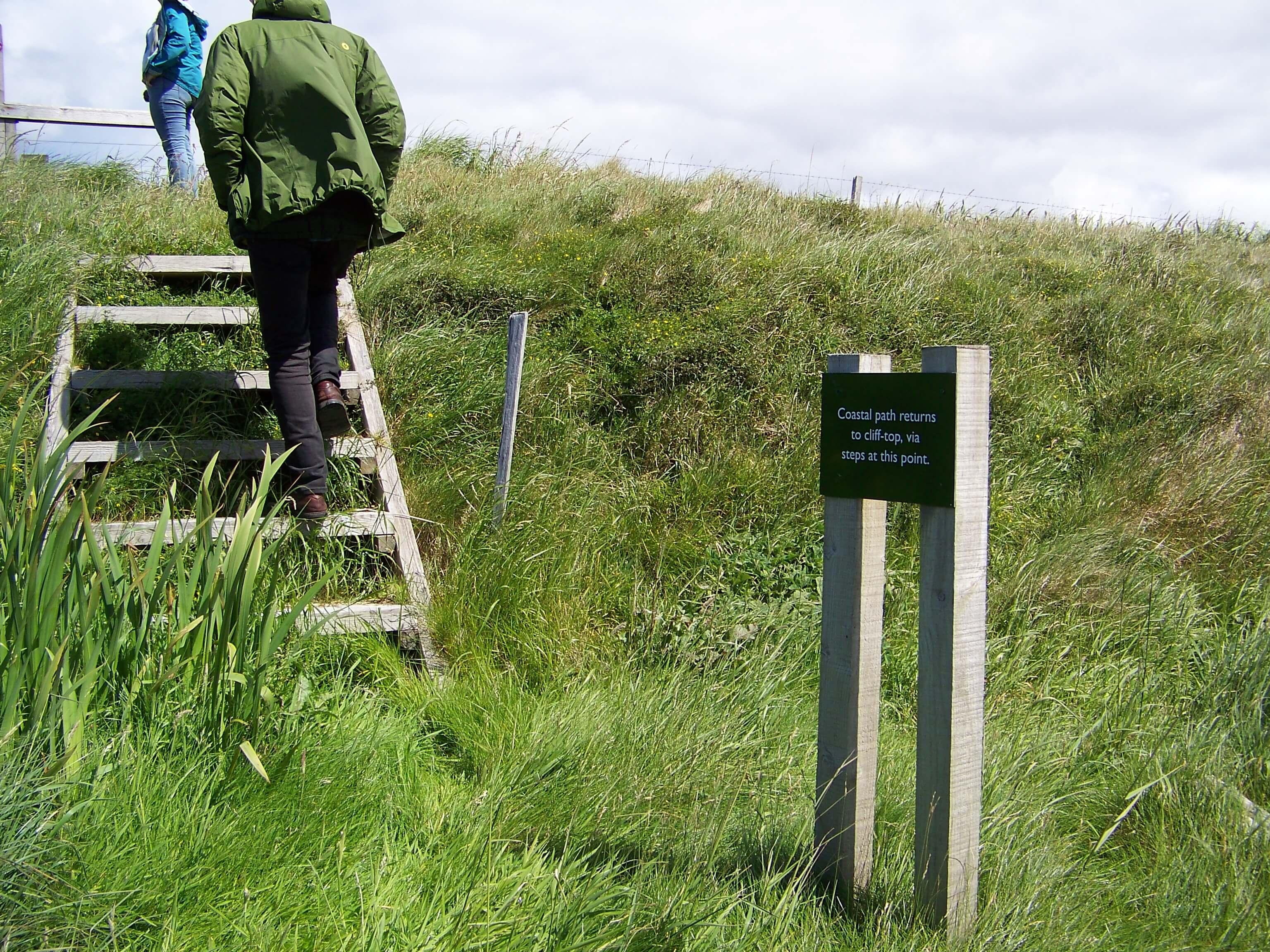 Coastal walk path, Orkney