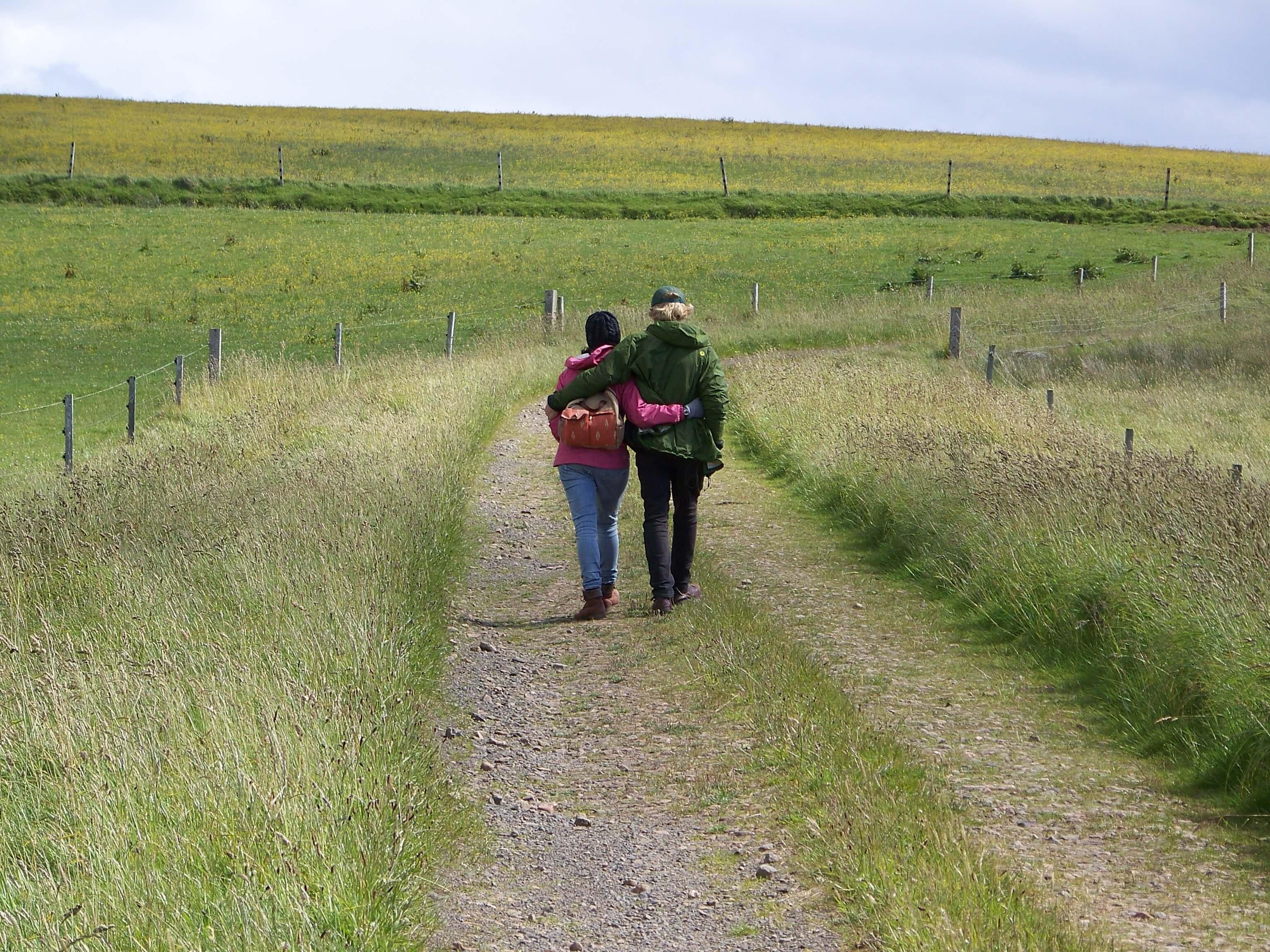Walk around an Orkney island