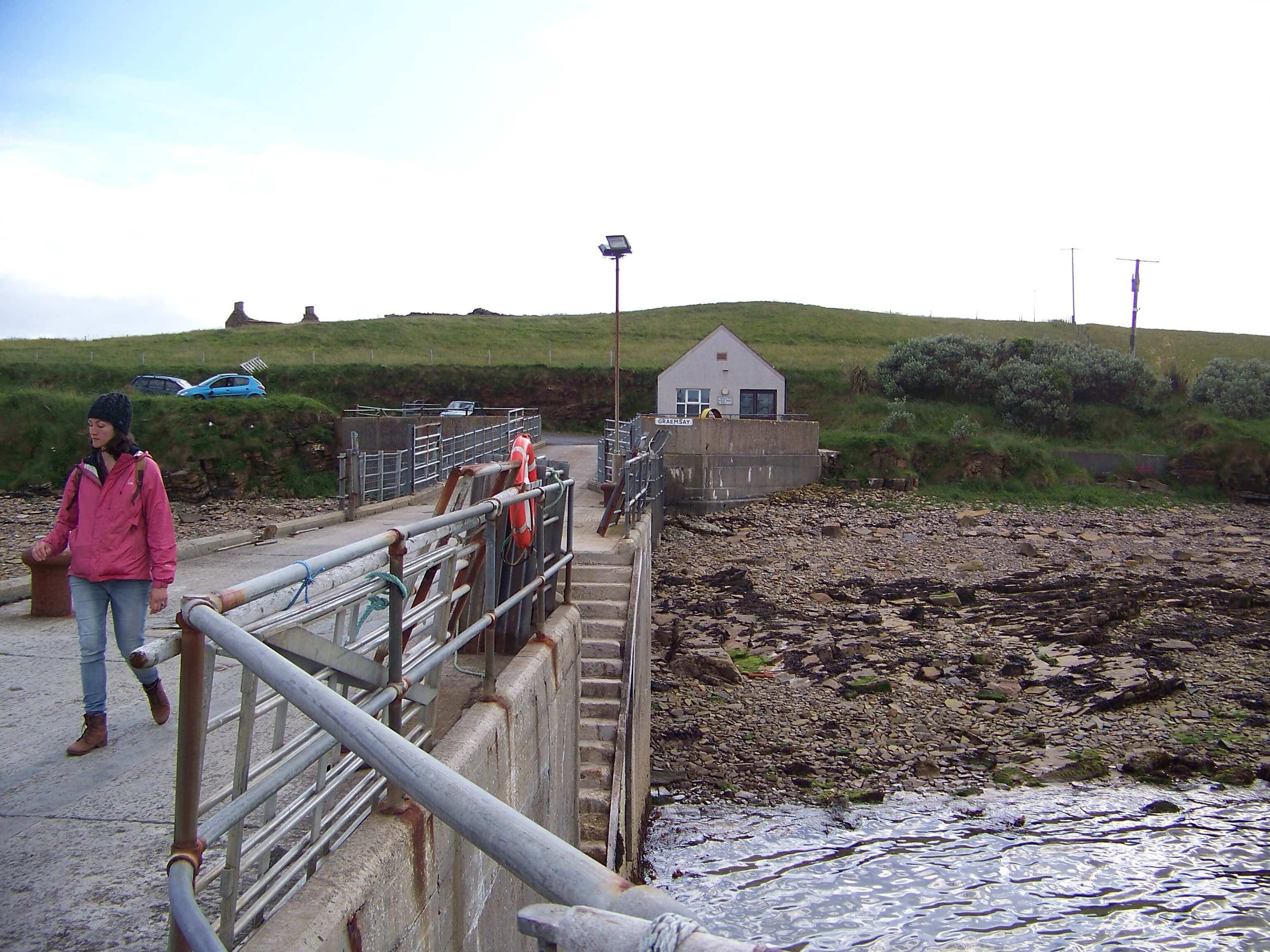 Ferry terminal, Orkney