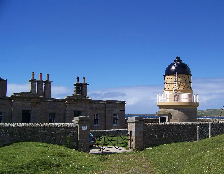 Hoy Sound Low lighthouse, Orkney