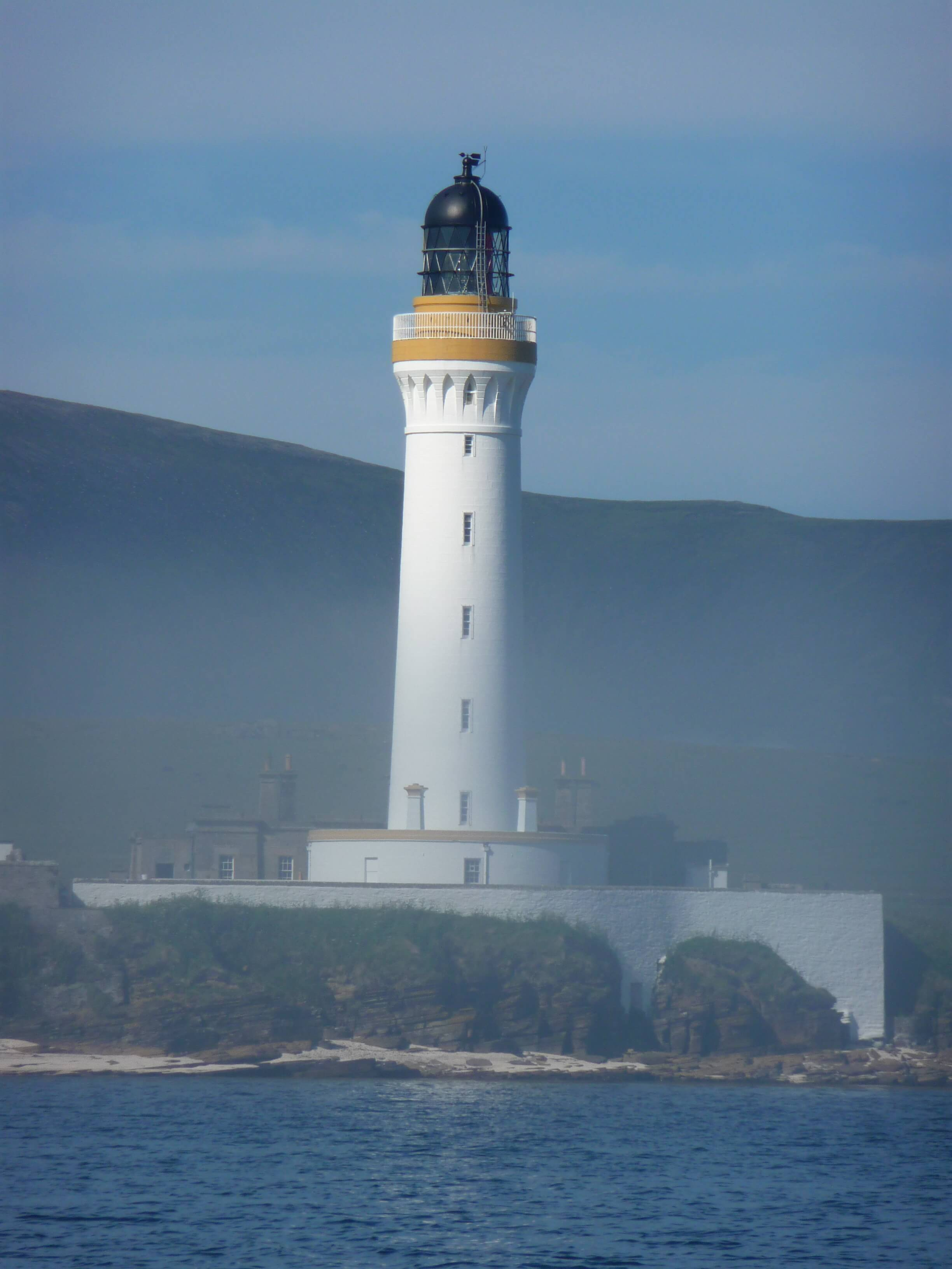Hoy High lighthouse, island of Gramesay, Orkney, Scotland