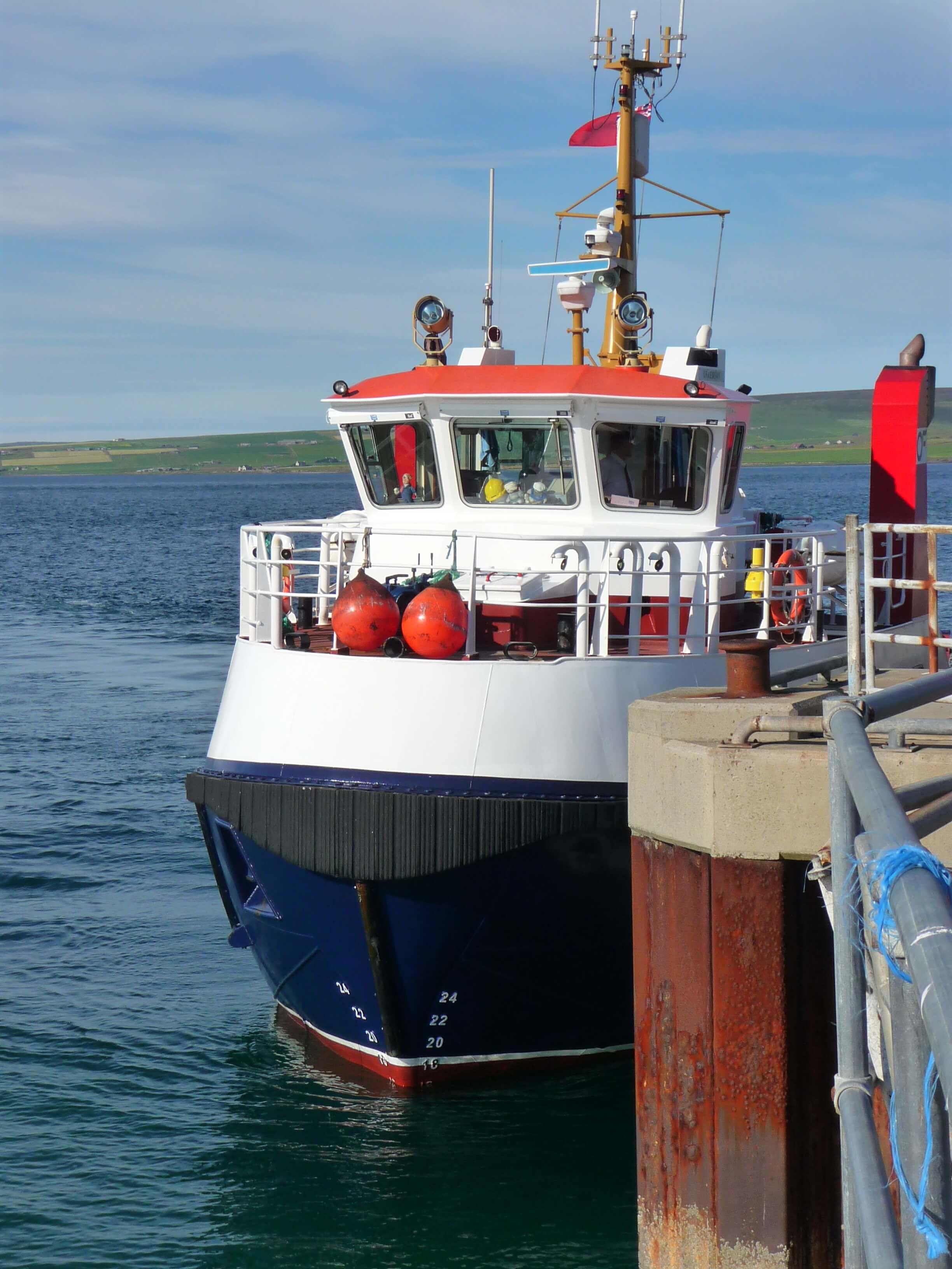 Orkney Ferries, Orkney