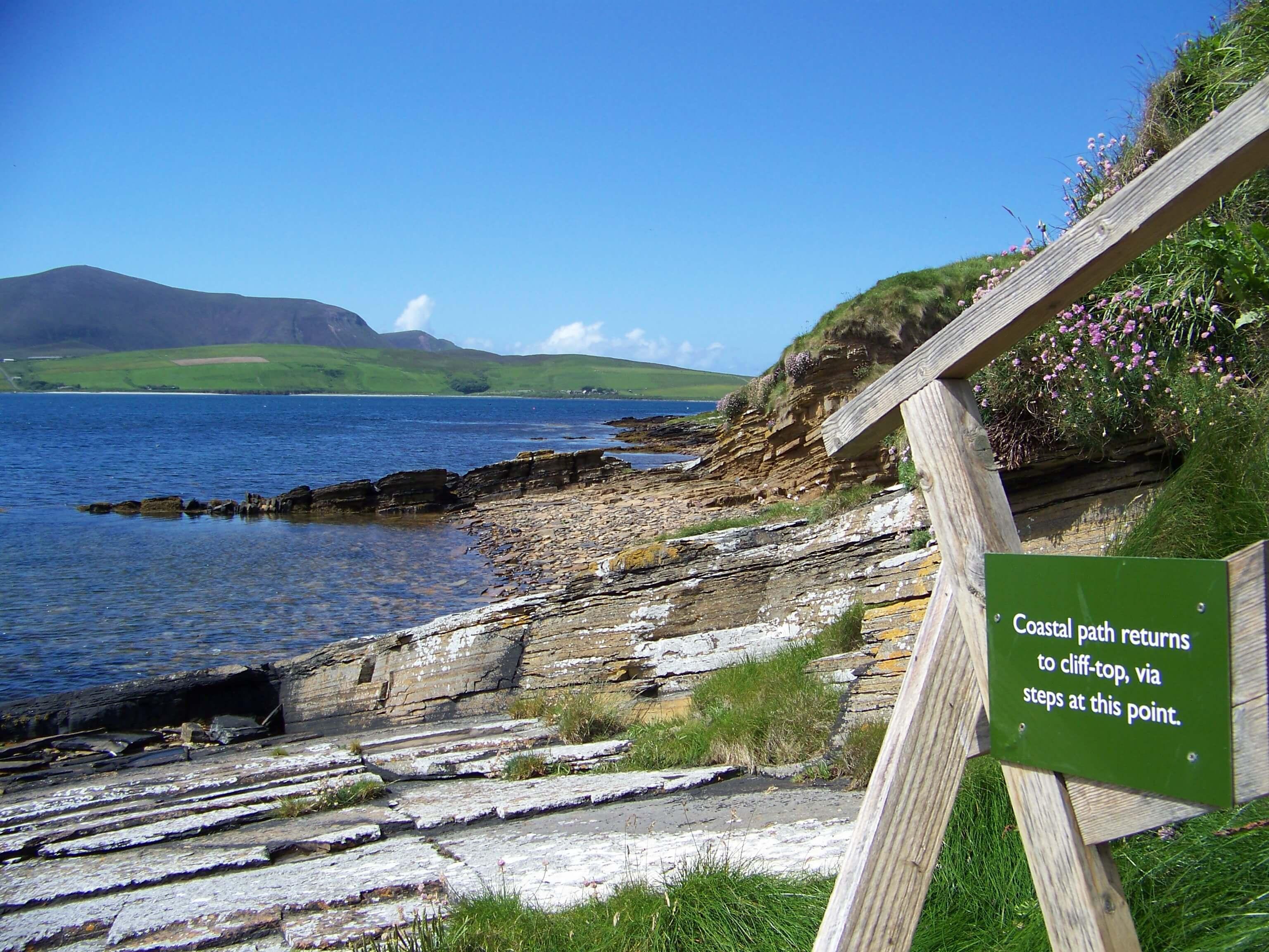 Coastal walk, Orkney