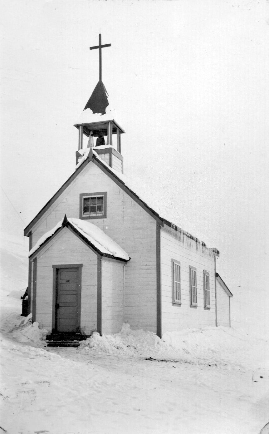 Hudson's Bay Company photo of a church