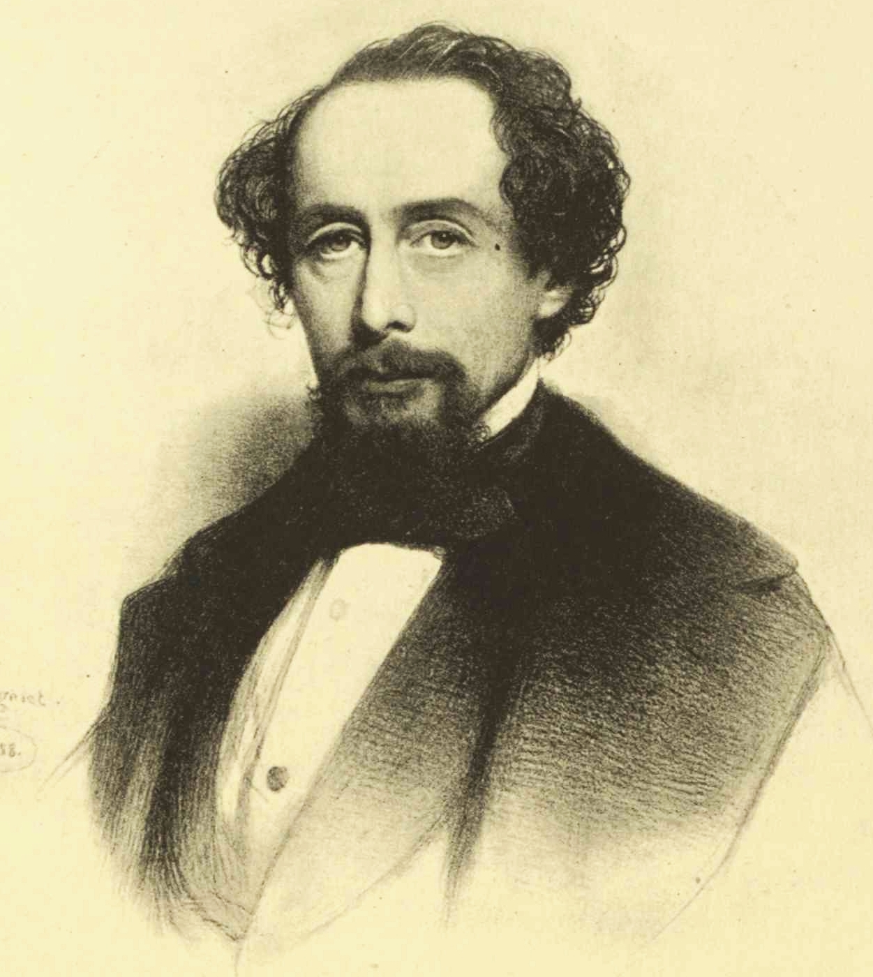 Author Charles Dickens, who teamed up with Lady Franklin to discredit Rae