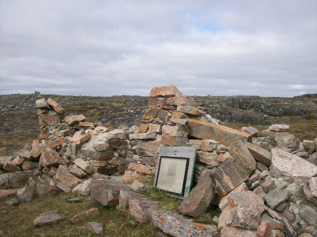 Fort Hope, Rae's stone house in the Arctic