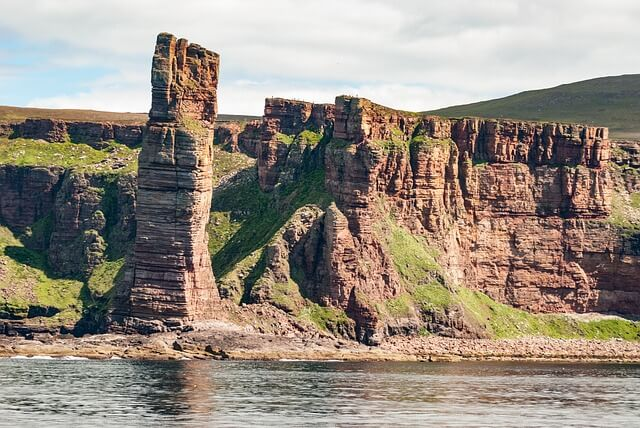 The Old Man of Hoy rock stack, Orkney.