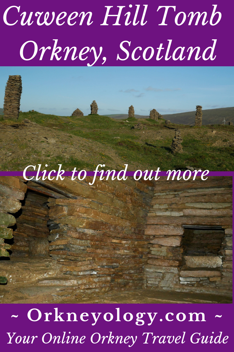 Visit a Neolithic tomb in Scotland's Orkney Islands - Cuween Hill Chambered Tomb. Find out more about Orkney at Orkneyology.com