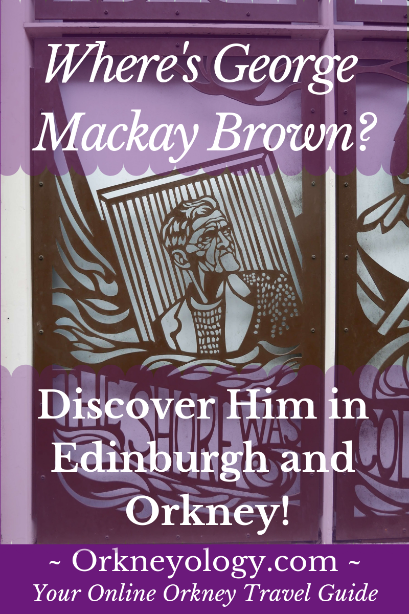 Discover Orkney Islands writer George Brown, Orkney's bard, at Orkneyology.com