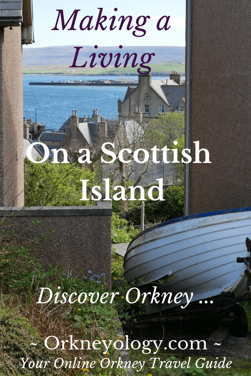 Can you make a living from anywhere - even the Scottish Orkney Islands? An American expat tells you here story and shows you how you can earn money from home with a location-independent business.