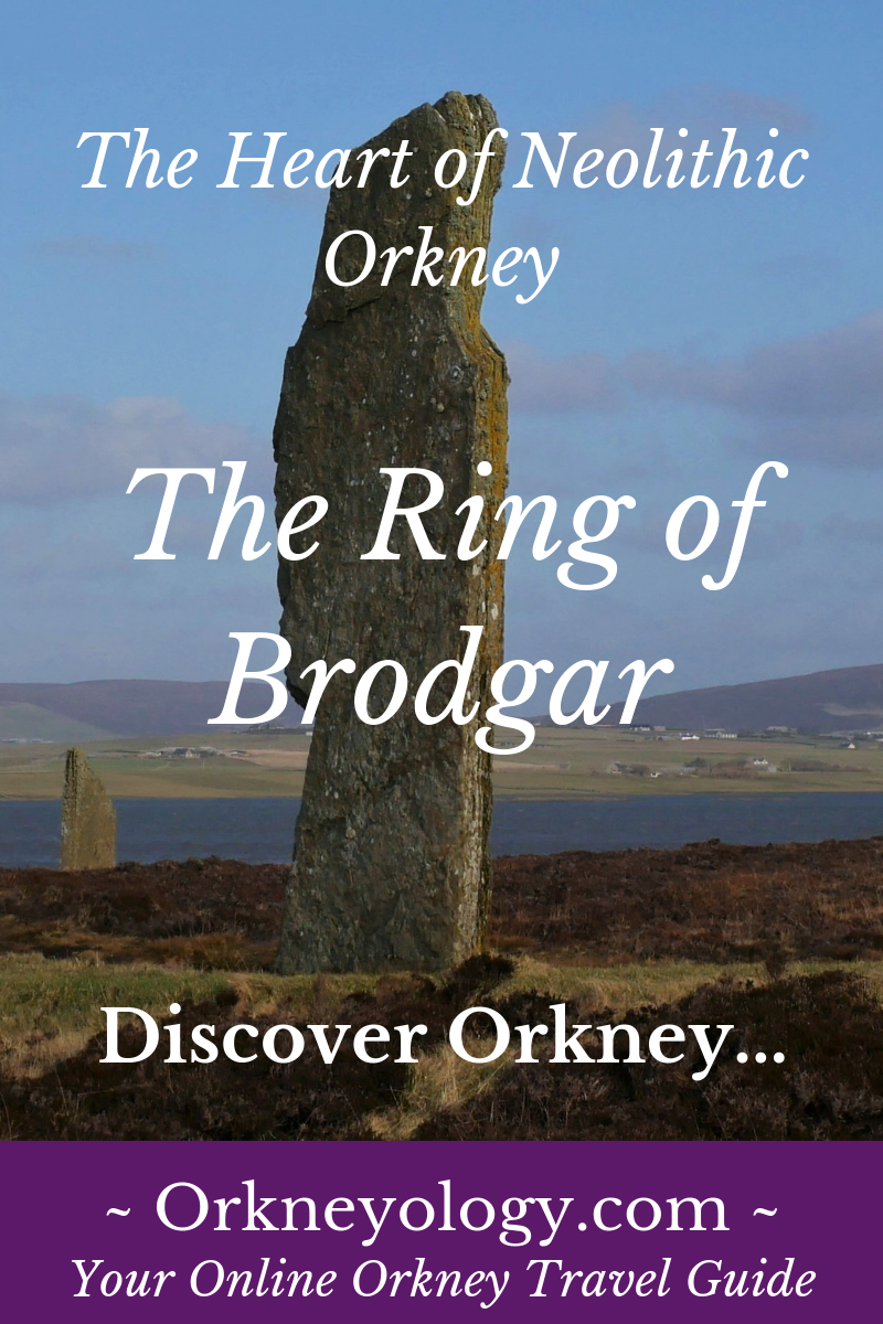 The Neolithic stone circle at Brodgar,  Orkney Islands, Scotland, UK. Find out how to visit Orkney, Scotland from native storyteller Tom Muir at https://www.orkneyology.com