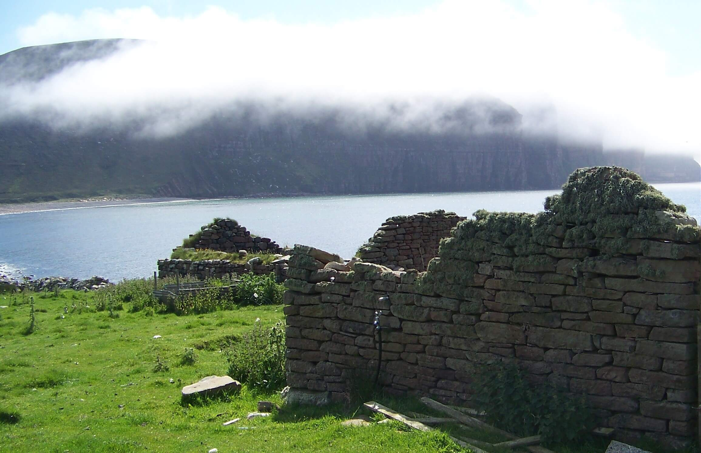 Abandoned crofts in Hoy, Orkney