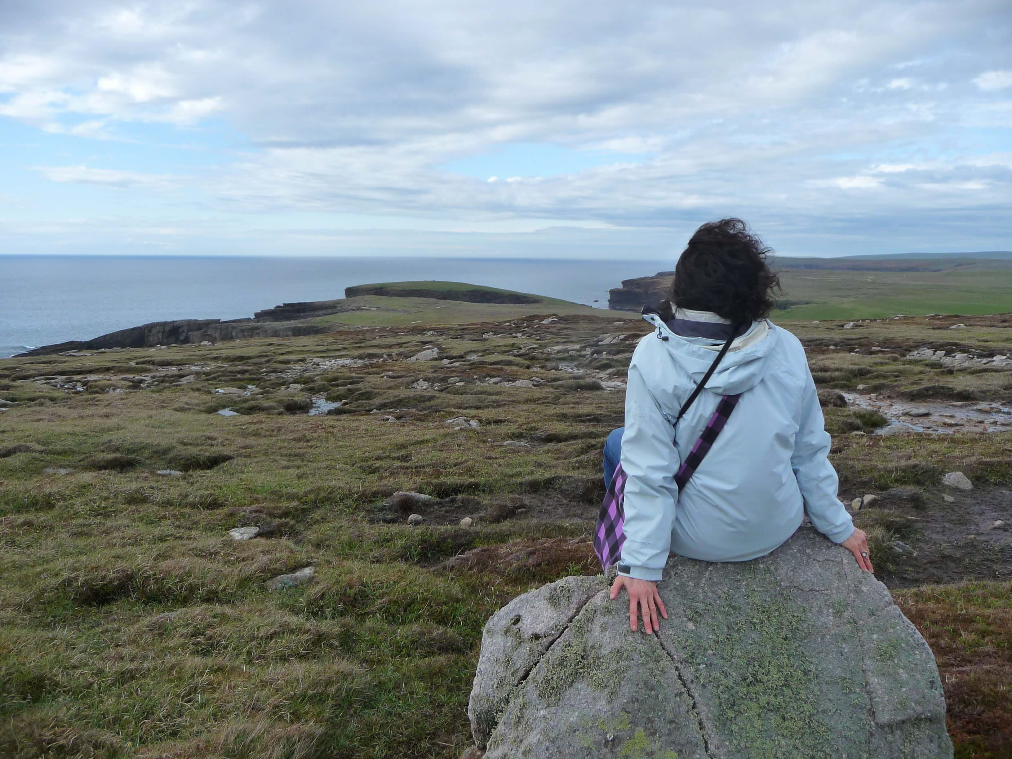 www.Orkneyology.com - American expat in Scotland's Orkney Islands, Rhonda Muir, getting rooted in her new home in Orkney