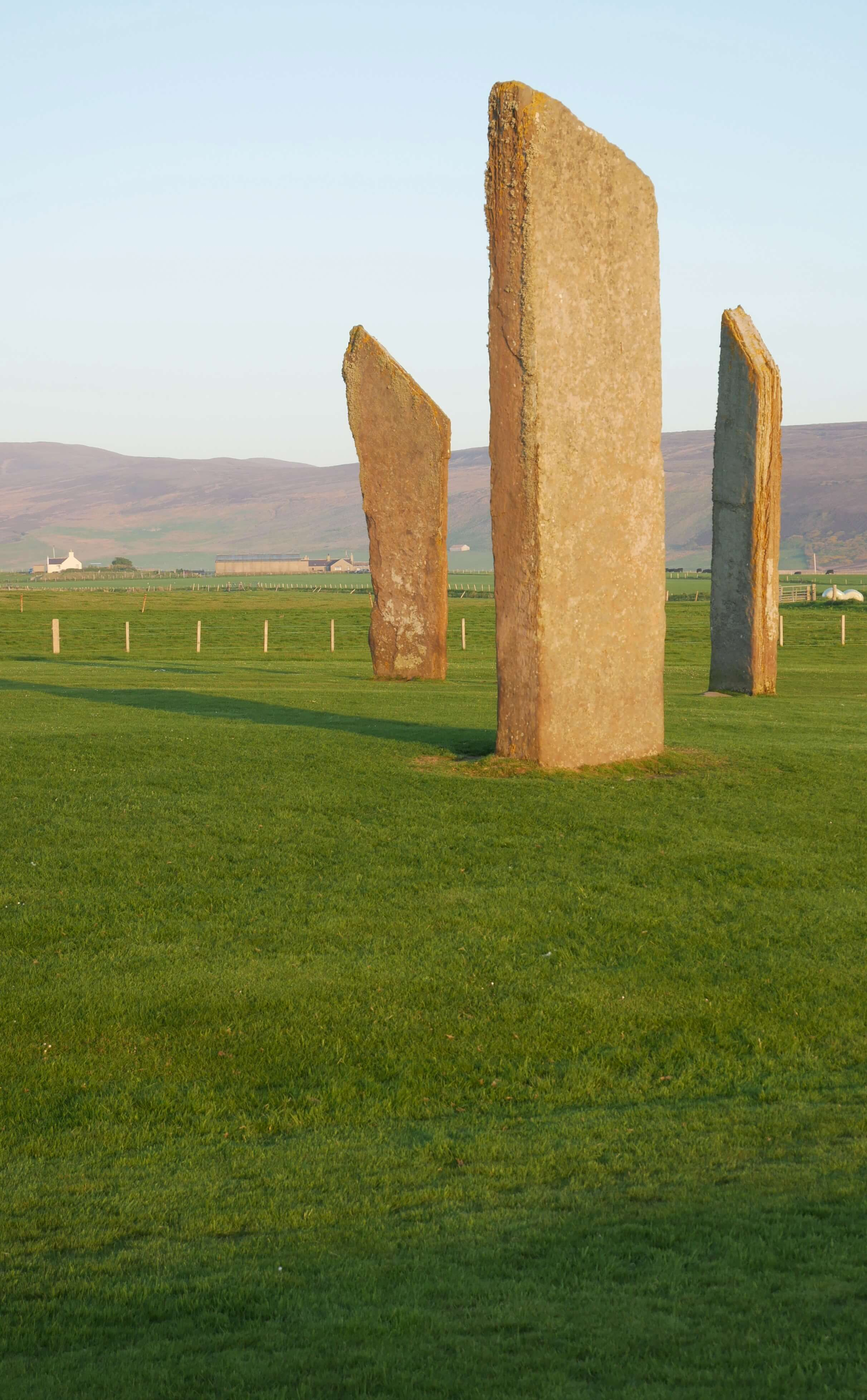 Stones of Stenness, Orkney Islands, Scotland