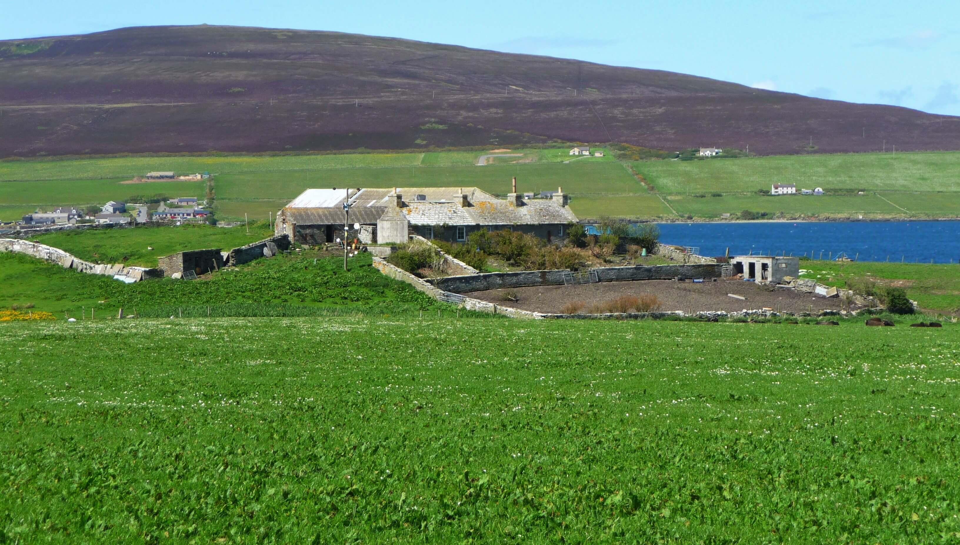 The Bu, island of Wyre, Orkney, Scotland, UK