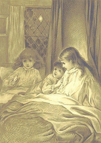 Old illustration of children