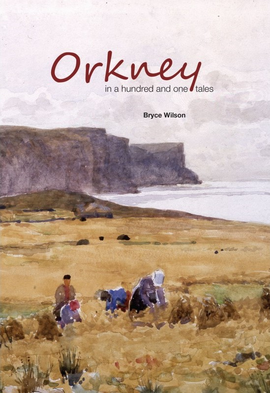 Stromness, Orkney historian, author and artist Bryce Wilson's