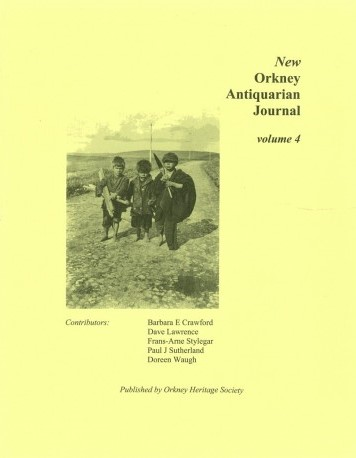 New Orkney Antiquarian Journal, volume 4 - contains a piece on the Bishopric of Orkney
