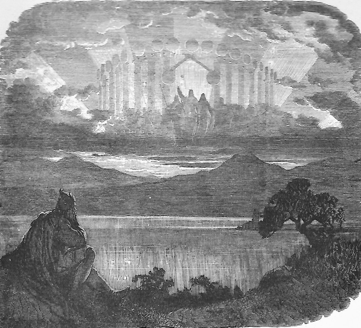 Old illustration of Valhalla